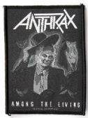 Anthrax - 'Among the Living' Woven Patch